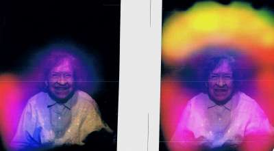 Aura Picture - Before and After the Healing